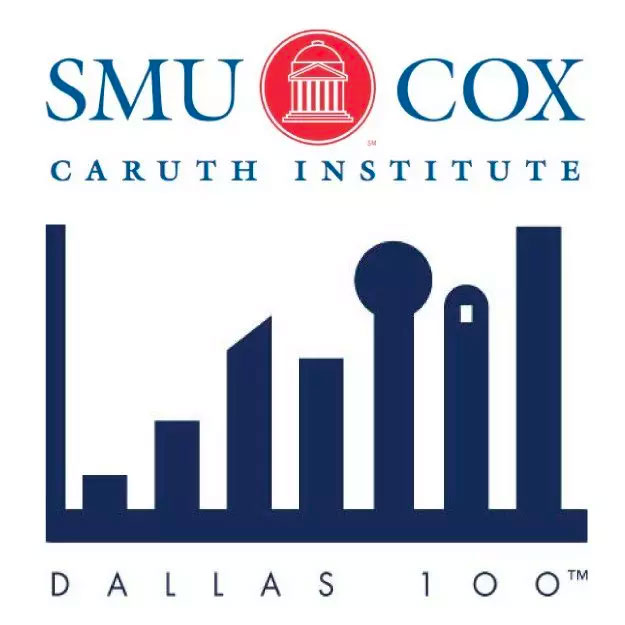 Dallas 100 Award - SMU Cox Caruth Institute Logo