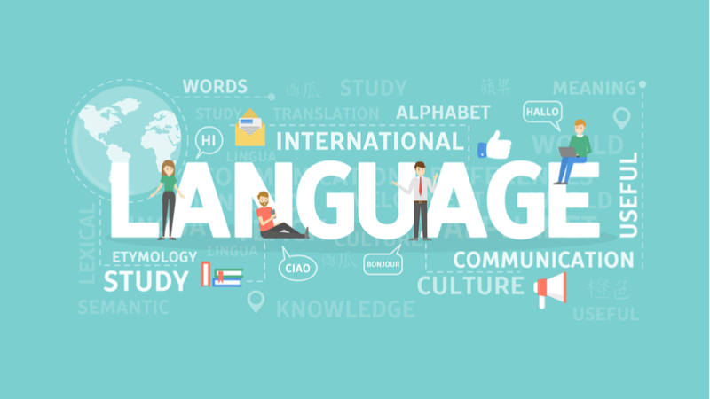 International language graphic