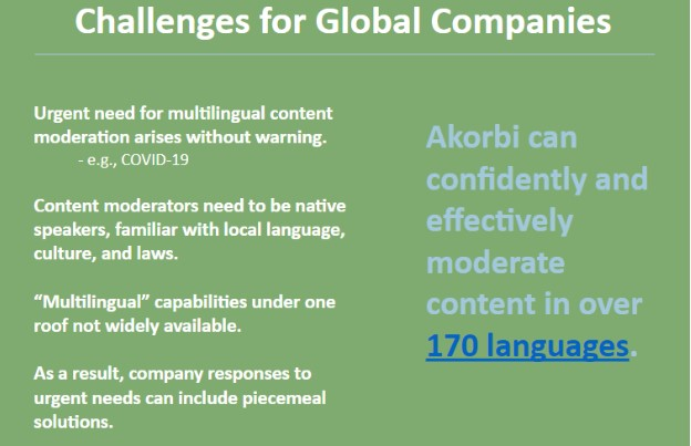Challenges for Global Companies