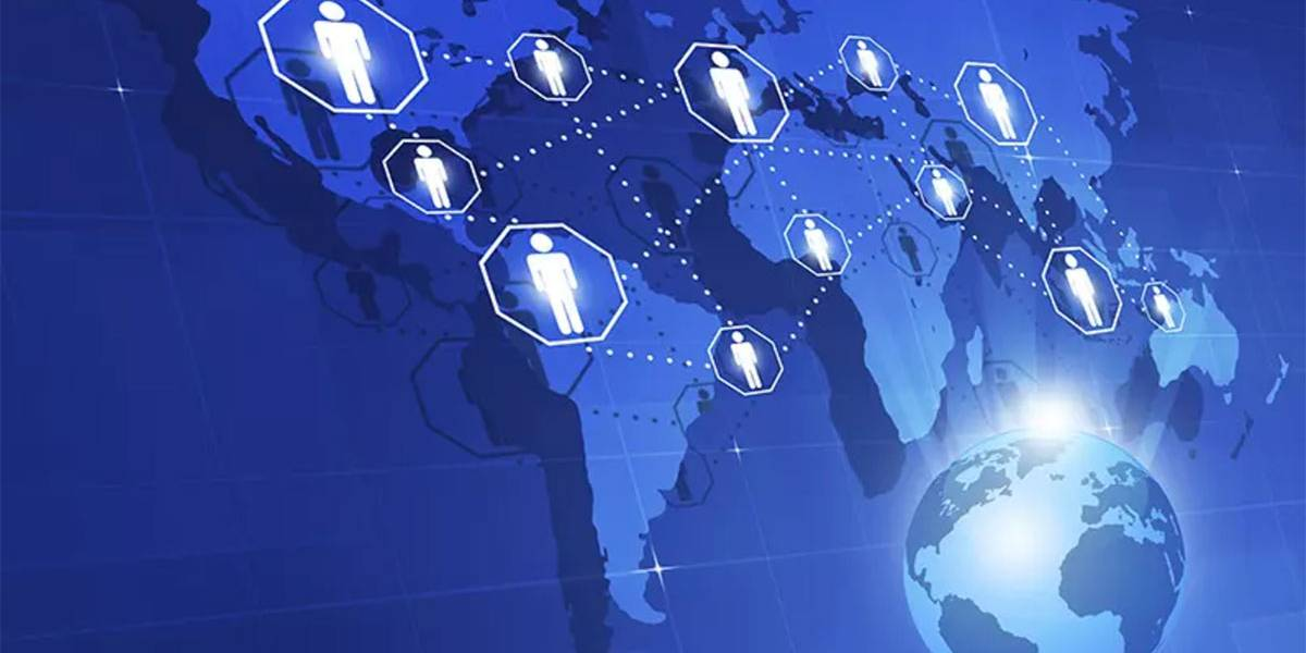 People Around the World Global Staffing Icon