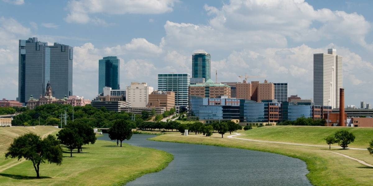 Dallas Texas Skyline in the Day Time